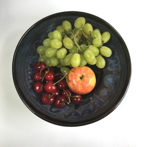 Stoneware Fruit Bowl